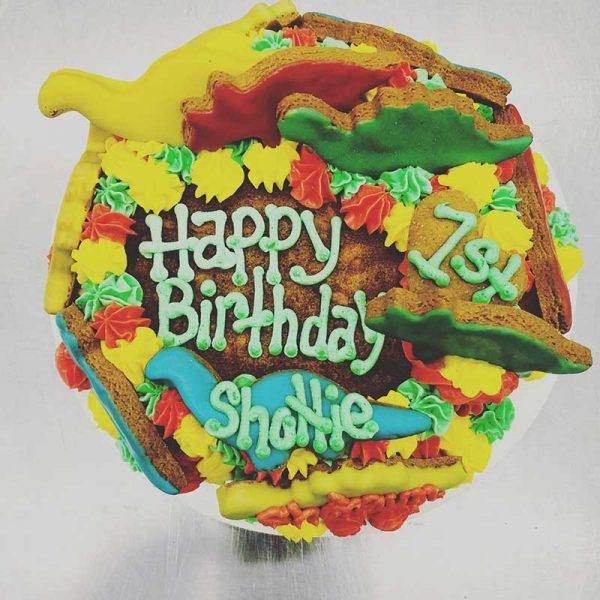 dino bday cake