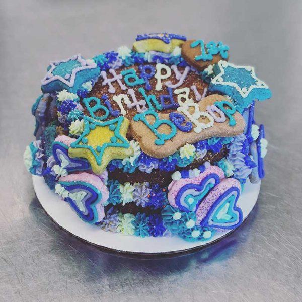 stars bday cake