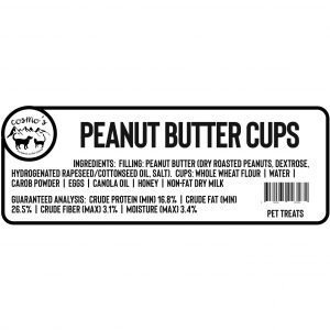 Peanut Butter Cup Label 1