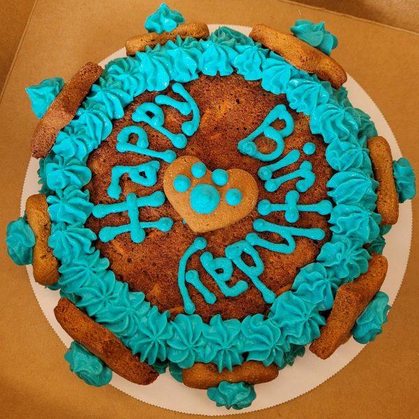 Birthday Cakes blue frosting